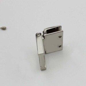 Image 4 - 20pcs 36*28mm 4colors  metal fitting hardware handbag/bags tassel cap clasp square buckle screw connector bag hanger