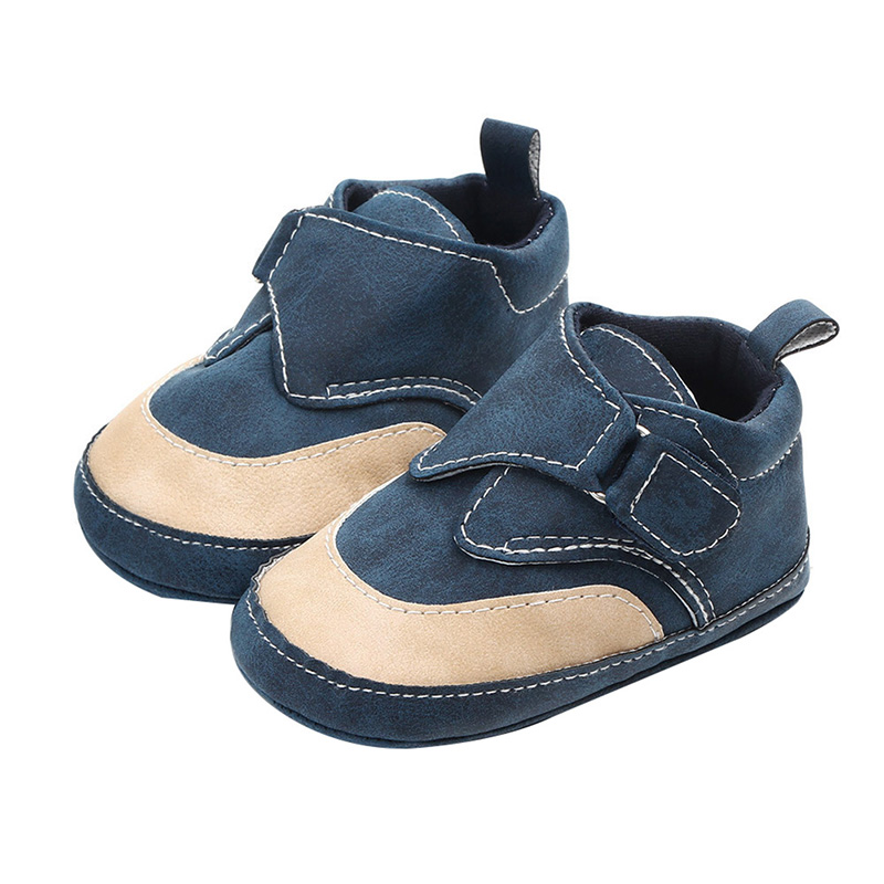Baby Boys Shoes Breathable Patchwork Sneakers Toddler Soft Soled First Walkers Casual Walking Shoe 13