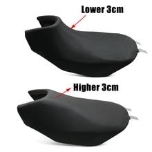 Almofada para benelli trk502 trk 502, acessório retrô modificado para assento de motocicleta preto preto
