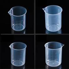 Taza medidora de plástico, 150ml, jarra para Caño y cocina, herramienta de papelería para maestro, Laboratorio, Quimico G2C4