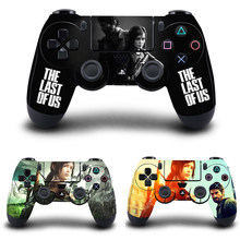 The Last of US Stickers,PS4 Controller Skin Vinyl Decal Sticker Cover for Sony PlayStation 4 DualShock 4 Wireless Controller(China)