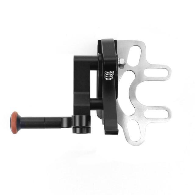 Support dextension de déclencheur dobturation réglable à longue tige amélioré pour caméras de plongée Gopro 8 7 pour support sous marin Panasonic GH5S
