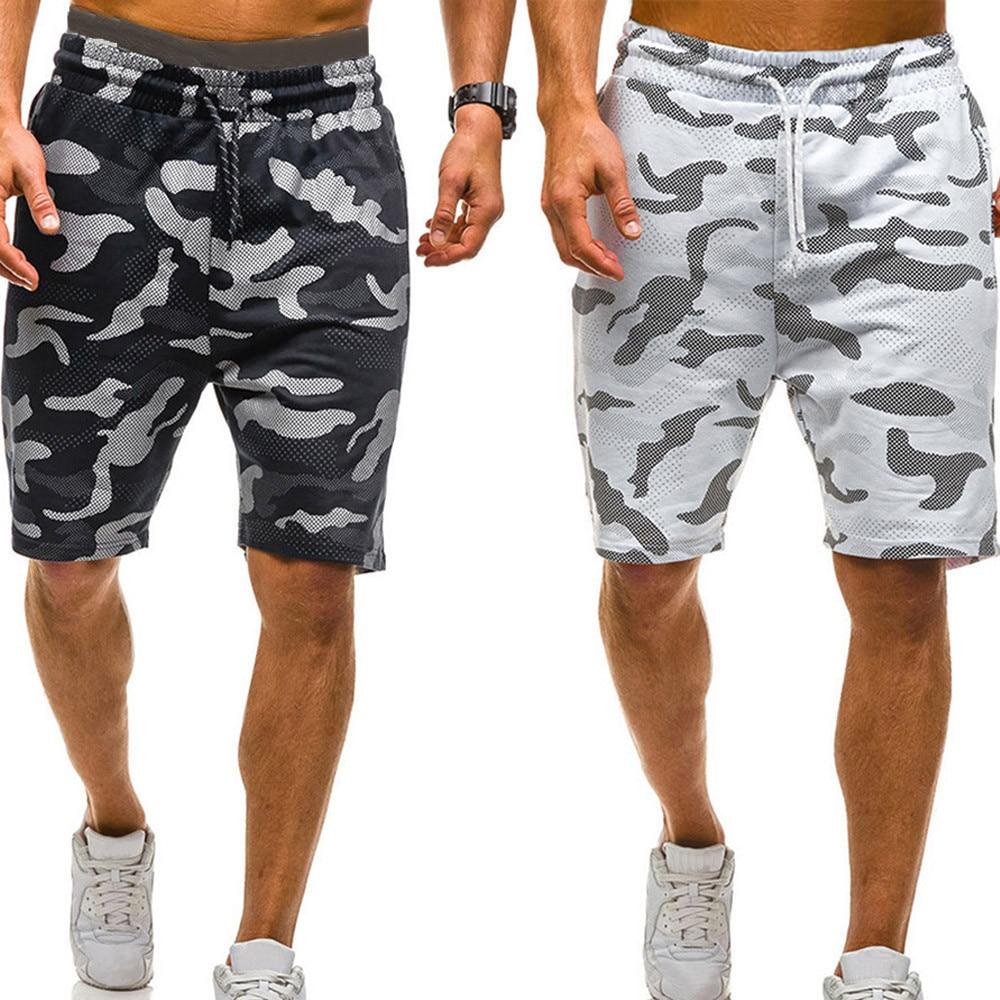 MJARTORIA Short Pants Military Knee-Length Mens Summer Casual New Male Homme Hot-Sale