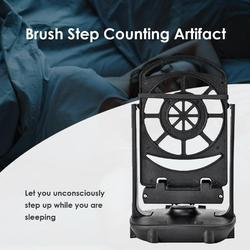 Balanço automático agitador telefone dispositivo wechat movimento passo passometer decoração para casa ornamento 18*11*11cm