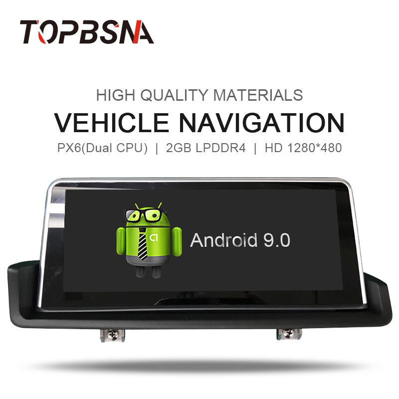 TOPBSNA Car Multimedia Player <font><b>Android</b></font> 8.1For <font><b>BMW</b></font> <font><b>E90</b></font> E91 E92 E93 2005-2012 GPS Navigation Car DVD player Stereo Auto radio WIFI image