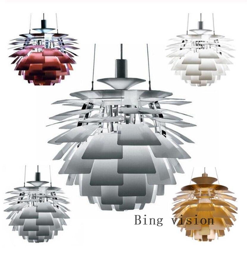 Bing Vision Pendant Lights For Home Lighting Denmark Modern Alluminum Hanging Lamp Copper Chandelier Suspension Luminaire Fixtur