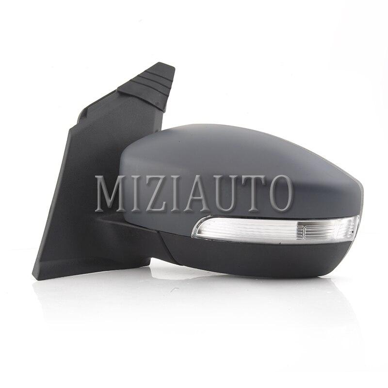 MIZIAUTO 6 Draht Für Ford Escape 2013 Auto Außerhalb Rückspiegel Rückspiegel mit Led anzeige Licht Montage