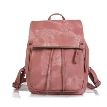 backpack women mochilas mujer 2019 Very fashion women's college wind shoulder bag exquisite solid color ladies bag sh110028