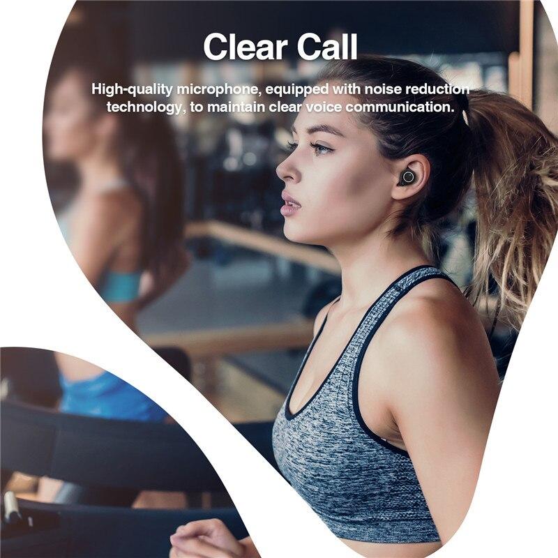 Image 3 - Tantio TWS W1 aptx Bluetooth Headphones with Qualcomm Chipset  Touch Control Totally High Performance Wireless EarphonesBluetooth  Earphones