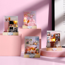 diy doll house miniature dollhouse furniture miniature dollhouse accessories dollhouse miniature villa casa toys for children diy doll house dream angel wooden miniature dollhouse furniture kit toys