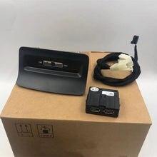 OEM Rear Seat USB Socket Armerst USB Adapter for Skoda Kodiaq Karoq 5QD 035 726 L