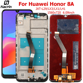 Display For Huawei Honor 8A LCD Display Touch Screen With Frame Digitizer Assembly LCD For Honor 8A 8 A Screen Replacement