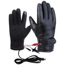 Унисекс прочные практичные электрические перчатки для катания на лыжах, рыбалки, верховой езды, перчатки с подогревом, зимние теплые, с зарядкой от usb, для улицы, водонепроницаемые