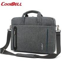 Sac à épaule 15.6 imperméable en Nylon pour ordinateur portable, sac business pour macbook PRO 15 pouces, sacoche 15.4 étanche en Nylon