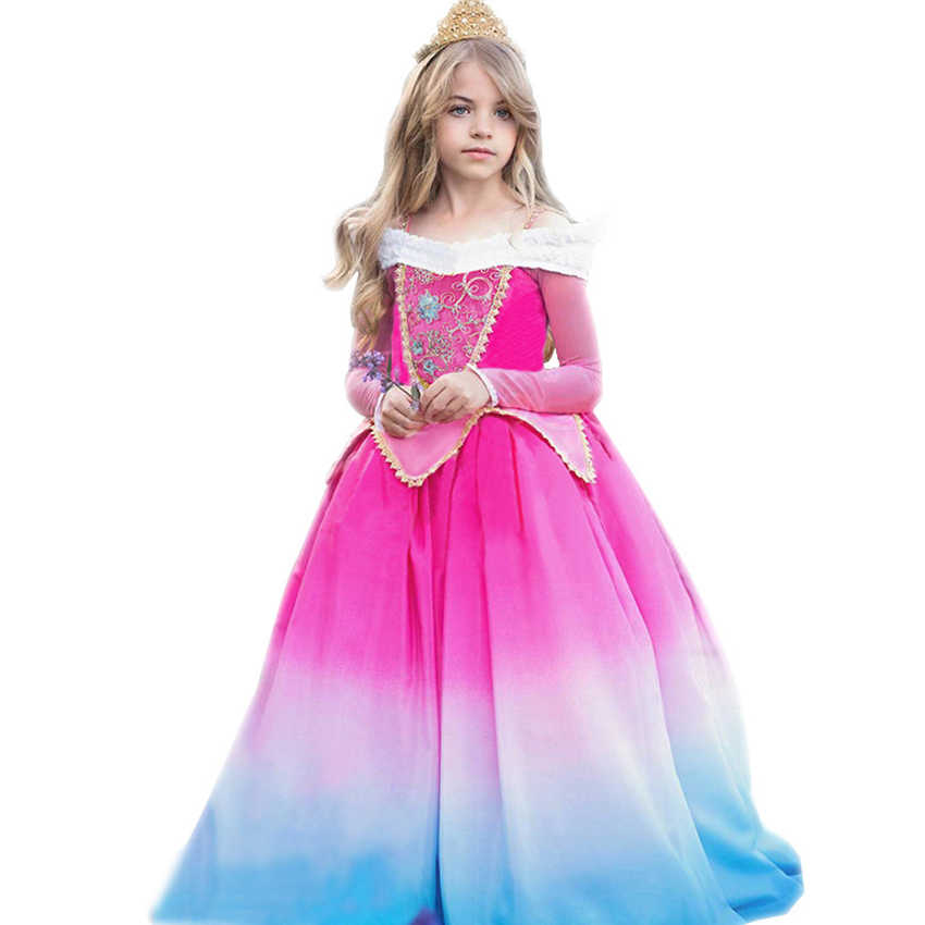 Princess Costumes Girls Dress Christmas Halloween Costume For Kids Princess Dresses Costumes Girl Fancy Dress Cosplay Girls Costumes Aliexpress