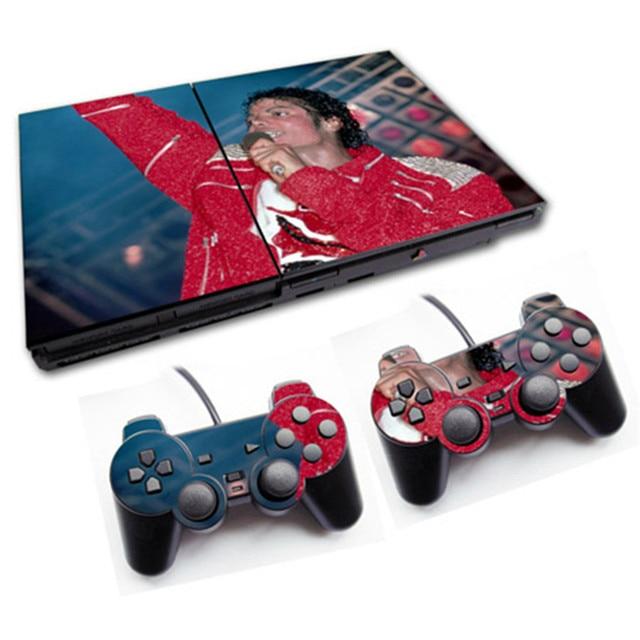 Pour PS2 slim 70000 autocollant de peau de Console