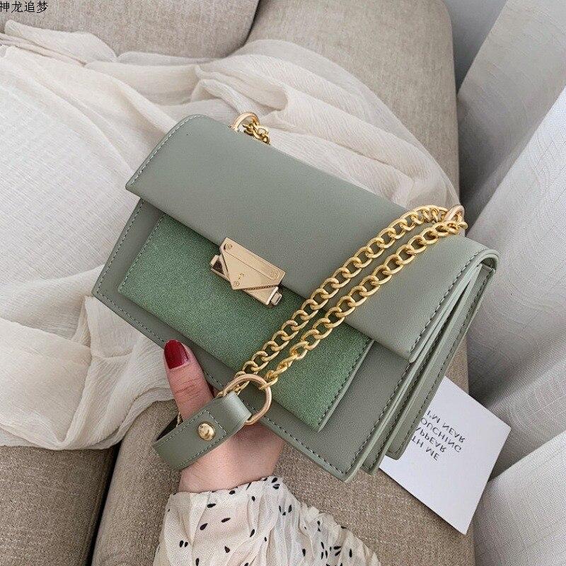 Female solid Crossbody Bags For Women 2020 Leather Luxury Handbags Designer Sling Sac A Main Ladies Hand Shoulder Messenger Bag