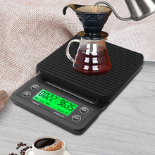 Timer Drip-Coffee-Scale Electronic-Scales Digital High-Precision 5kg with Portable LCD