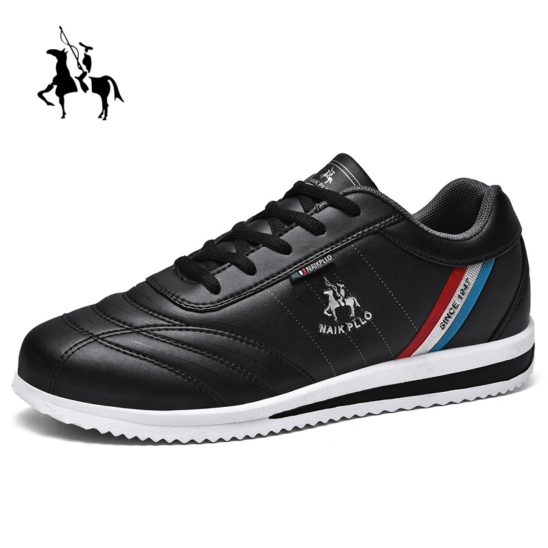 Golf Men's Professional Sports Shoes Non-slip Training Golf Sports Shoes Waterproof Leather Walking Shoes Black Blue Fitness 8