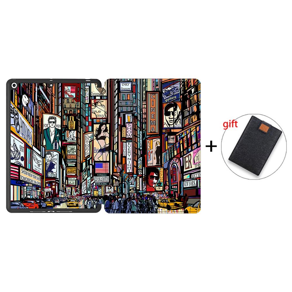 IPTPU02 Other MTT Case For iPad 10 2 inch 7th 8th Generation 2020 Soft TPU PU Leather Flip