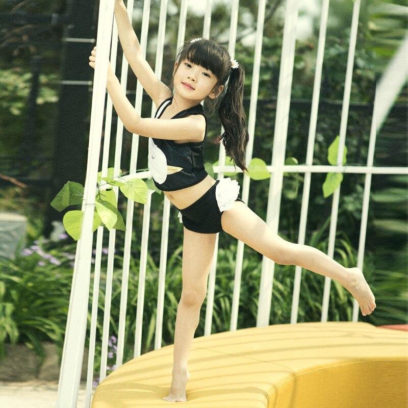 Bikini CHILDREN'S Swimwear Girls GIRL'S Swimwear Big Boy Baby Split Type Swimming Trunks