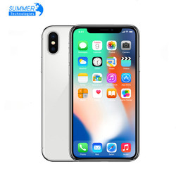 iPhone X Original Unlocked Apple Smartphones A11 iOS Hexa Face ID RAM 64/256GB Dual Rear Camera 12MP 4G NFC 5.8