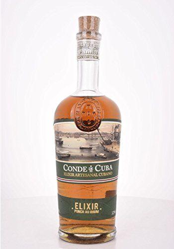 Conde De Cuba ELIXIR Punch Au Rhum 32,00% 0.7 L.