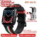 P12 Смарт часы-браслет для мужчин для женщин Bluetooth ответ на вызов полный сенсорный пользовательские напоминание о вызове фитнес-трекер IP67 Вод...