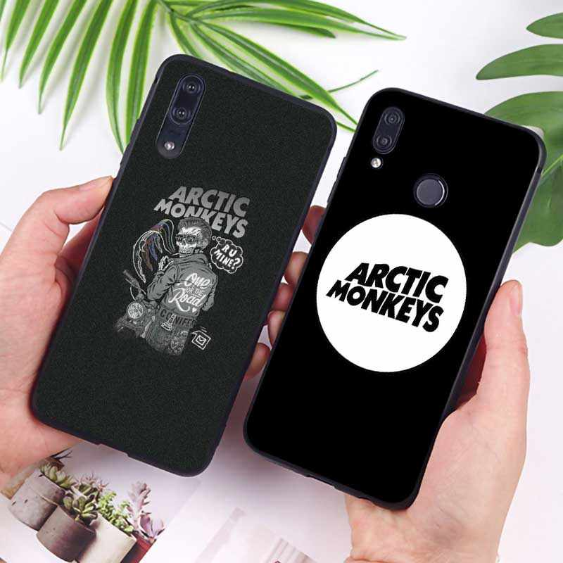 Arctic monkeys Rock und roll Band Abdeckung für huawei honor 9x pro 8x10 20 10 lite 20 pro Klar weiche Silikon Telefon Fall