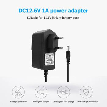 DC12.6V 1A Power Adapter Lithium Battery Charger Charger 5.5*2.1MM Plug Suitable For 11.1V Lithium Battery Pack (EU) image