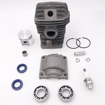 HUNDURE 42.5MM Cylinder Piston Engine Motor Rebuild Kit For STIHL 025 MS250 023 MS230 MS 230 250 Chainsaw Parts switch shaft choke rod kit for stihl ms250 ms230 ms210 025 023 021 ms 250 230 210 chainsaw parts