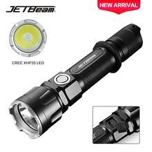 JETBeam IIIMR 2000LM мощный светодиодный фонарик для военной полиции USB Перезаряжаемый тактический фонарь для полиции