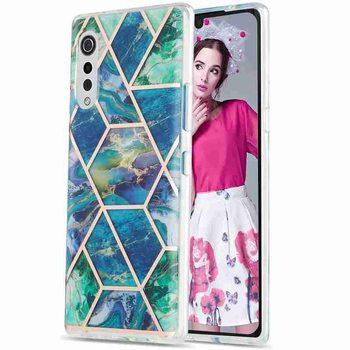 Funda dla LG Velvet 4G 5G Case G9 aksamitne silikonowe poszycie Patchwork marmurowy wzór tylna obudowa telefonu dla LG Velvet 4G 5G 6 8 Cal tanie i dobre opinie ixuaner CN (pochodzenie) Częściowo przysłonięte etui tpu case for LG Velvet 4G 5G G9 Velvet przezroczyste Fitted Case