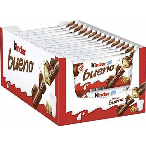 Kinder Bueno 2 Bars, Pack Of 30 (30 X 2 Bar Pack)