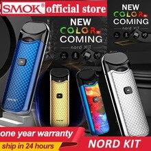 Smok Nord Pod vape комплект с аккумулятором 1100 мАч 3 мл картридж сетка спиральная электронная сигарета Vape pod Kit vs SMOK novo