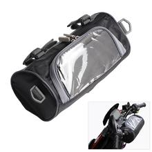 Motorcycle Electric Car Front Handlebar Storage Bag Accessories Waterproof Mobile phone Touch Screen