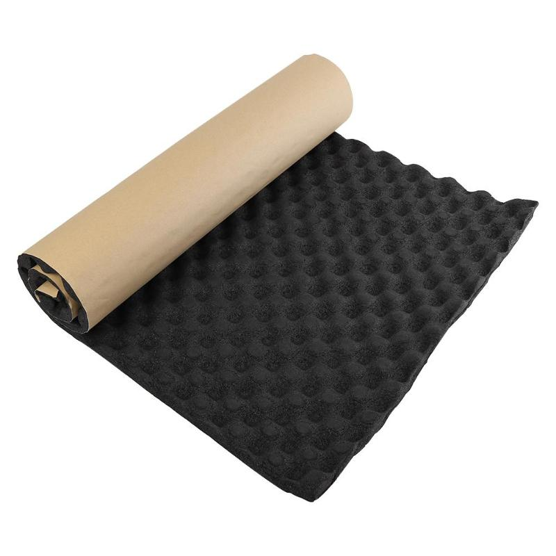 100x50cm Car Sound Deadener Mat Sound Deadening Noise Insulation Acoustic Dampening Foam Subwoofer Mat Auto Accessories