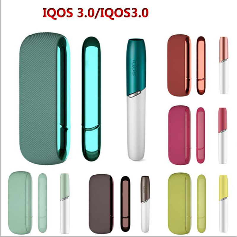 1 Cap 1 Case 1 Side For IQOS 3.0 Cap Magnetic PC Side Cover Cover Accessories