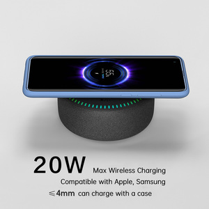 Image 2 - ZMI Wireless Charger 20W Max Bluetooth 5.0 Speaker For Mi 9/10 (Pro) (Other 10W Max With Gift Charger) 7 Color Light FOD Safety