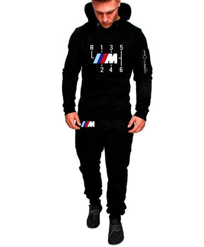 2019 Fashion Shifter Sunlight Fit Hoodies Men Sports Set Hoodie+trousers Casual Mercedes F1 Suzuki Hoodie Coat Tops