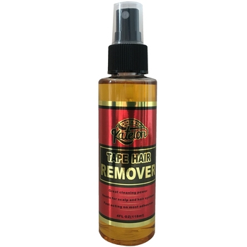 4 Oz 118 ml yellow liquid remover for lace wig glue remover for adhesive tape 2