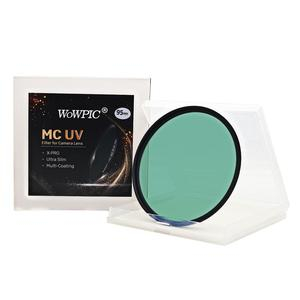 Image 1 - 95mm MC UV Filter WOWPIC Super Slim Green Muticoating 16 layers Lens Protector 95 mm Camera Filter for Canon Nikon DSLR Camera