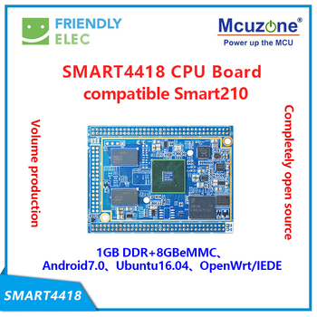 FriendlyELEC SMART4418 CPU BOARD 1GB DDR3 8G eMMC S5P4418 friendlyarm