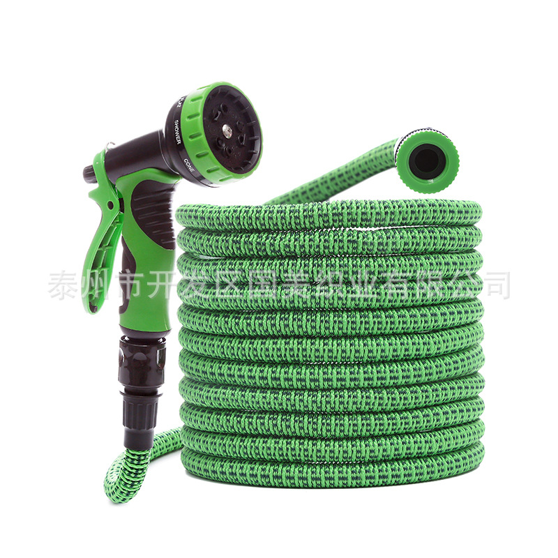 Cross Border Hot Selling New Style Garden Hose Garden Watering Magic Telescopic Pipe High Pressure Car Washing Gun Tool Wholesal