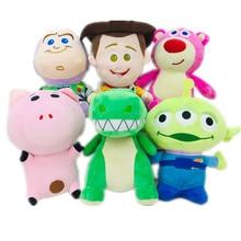 20CM de Disney Pixar juguete historia 3 4 Woody Buzz Lightyear de peluche de juguete de peluche de felpa animal, muñeco de peluche de juguete niños regalo de Navidad y Halloween