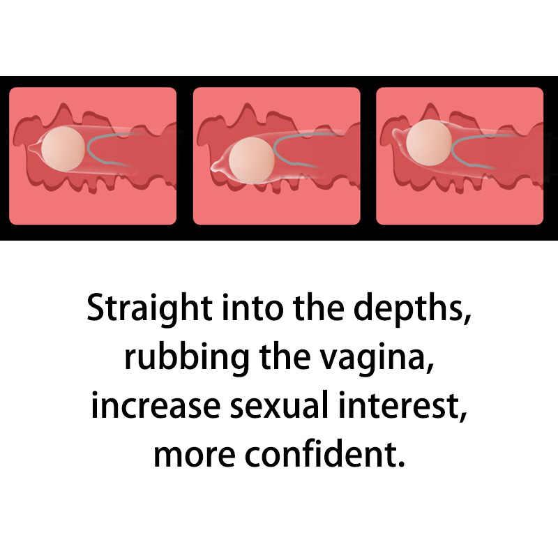 Lembut Entertraining Bola Kondom untuk Pria Penis Nozzle Ayam Dick Extender Erotis Intim Barang Produk Mainan Seks untuk Orang Dewasa Toko