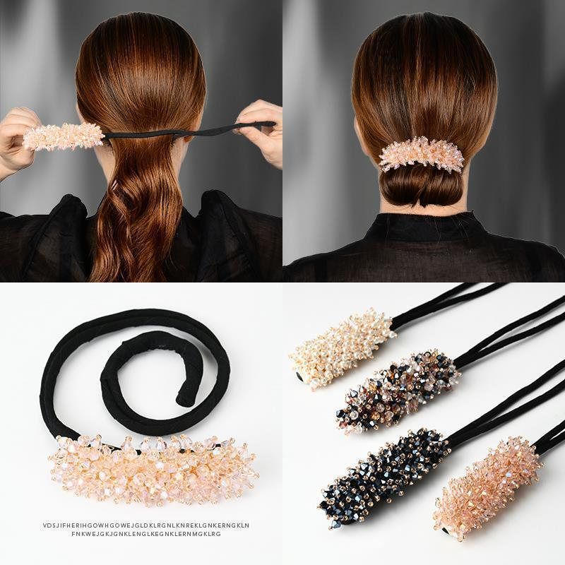 Hair Styling Magic Clip Curler Hairstyle twist Maker Tool Hairpin female Curling instrument back of hair clip hair accessories