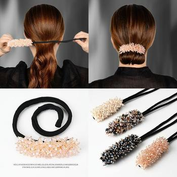 Hair Styling Magic Clip Curler Hairstyle twist Maker Tool Hairpin female Curling instrument back of hair clip accessories - discount item  50% OFF Headwear