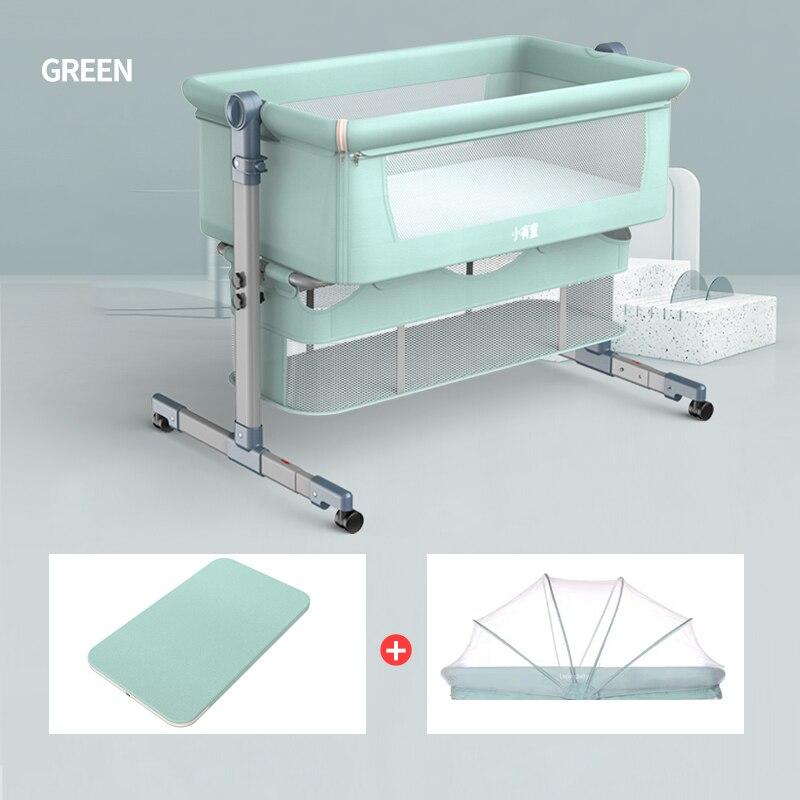 Multifunction Protable Foldable Newborn Baby Travel Crib Nest Height Adjustable  Baby Nursery 0-12month