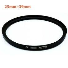New Camera UV lens filter 25mm 25.5mm 27mm 28mm 30mm 30.5mm 34mm 35.5mm 39mm for Canon